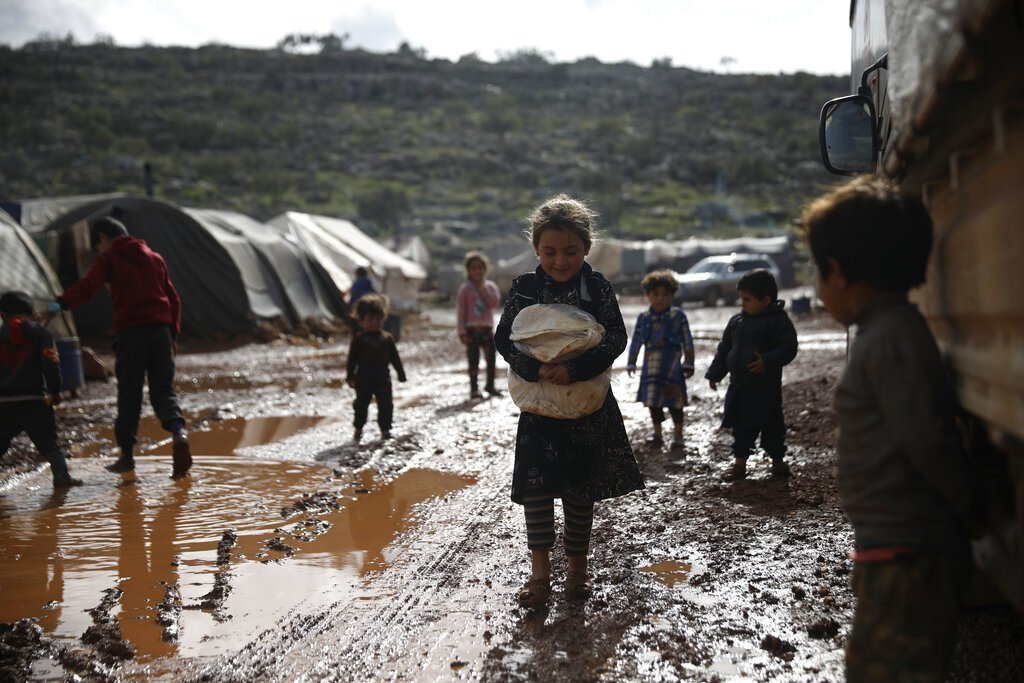 poverty-stricken Syrians