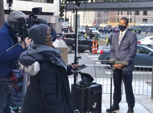 Chauvin's trial drains emotions For Black journalists.