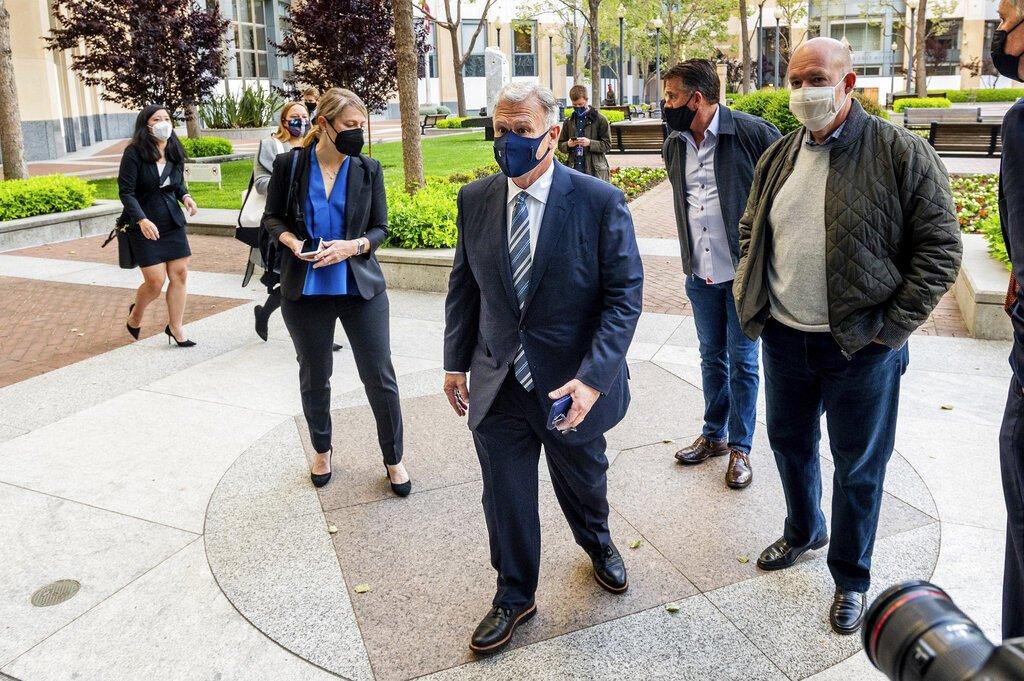 Apple on trial