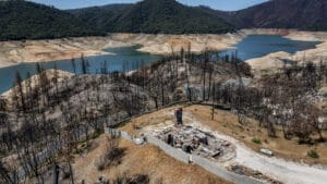 Each year Lake Oroville helps water a quarter of the nation's crops, sustain endangered