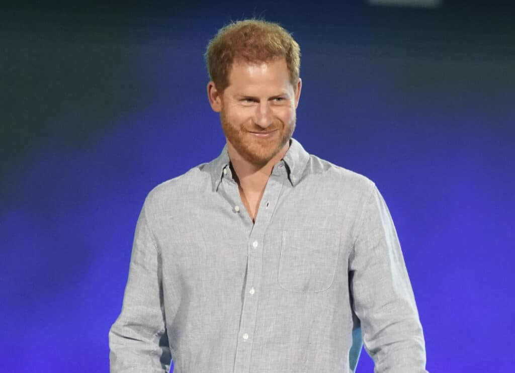 Prince Harry promotes