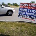 The number of Americans applying for unemployment benefits rose last week for the first