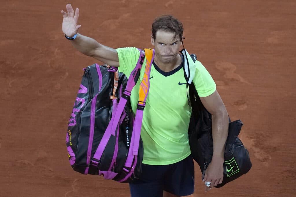 Rafael Nadal will not play at Wimbledon or at the Tokyo Olympics, saying Thursday