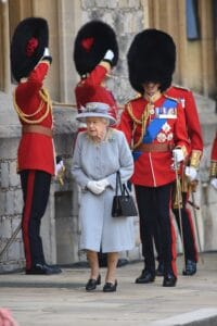 Fresh from charming leaders at the Group of Seven summit, Queen Elizabeth