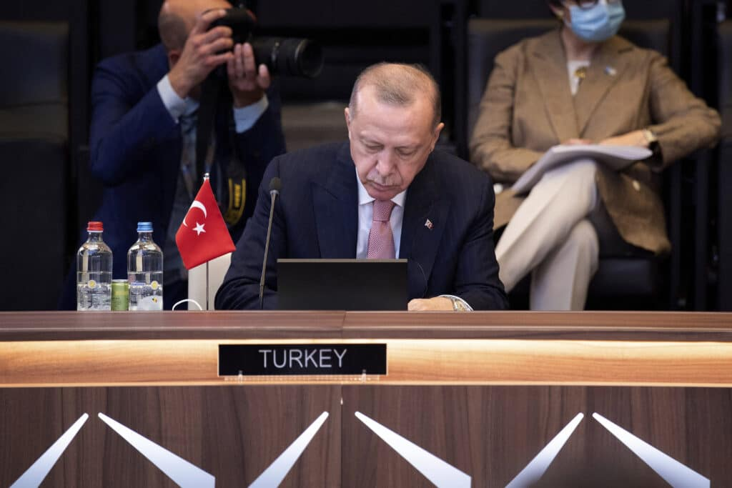 Turkish President Recep Tayyip Erdogan says the revival of a dialogue