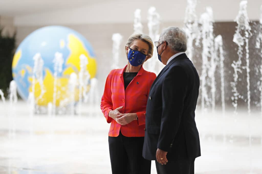 The European Union moved a step closer Wednesday to deploying the bloc's massive pandemic
