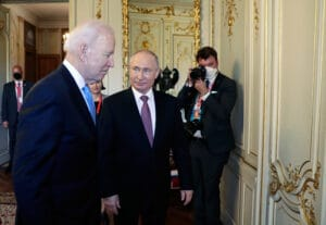 Russian President Vladimir Putin has described the tone of the talks with U.S.