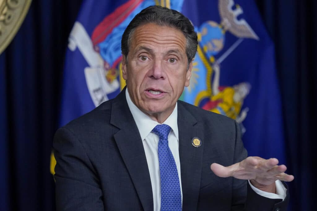 Gov. Andrew Cuomo's political star was dimmed by allegations he sexually harassed
