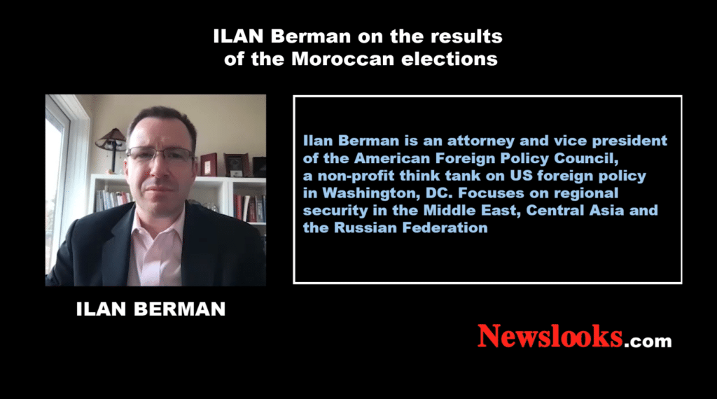Ilan Berman on the Moroccan elections